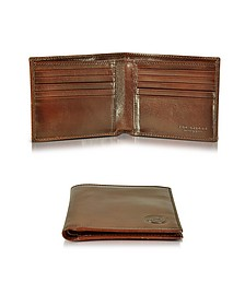 Story Uomo Dark Brown Men's Billfold Wallet - The Bridge