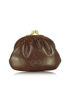 Brown Leather Coin Purse - The Bridge