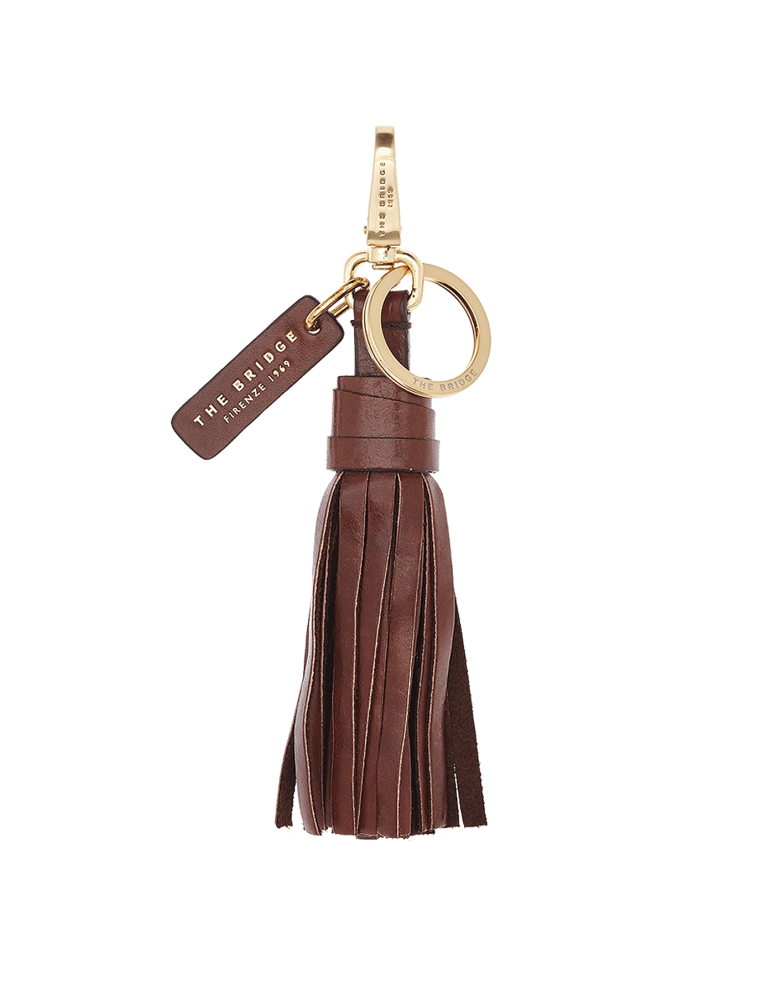 The Bridge Designer Handbags, Florentin Genuine Leather Key Holder