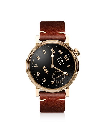 Toponi Officer Gold Watch