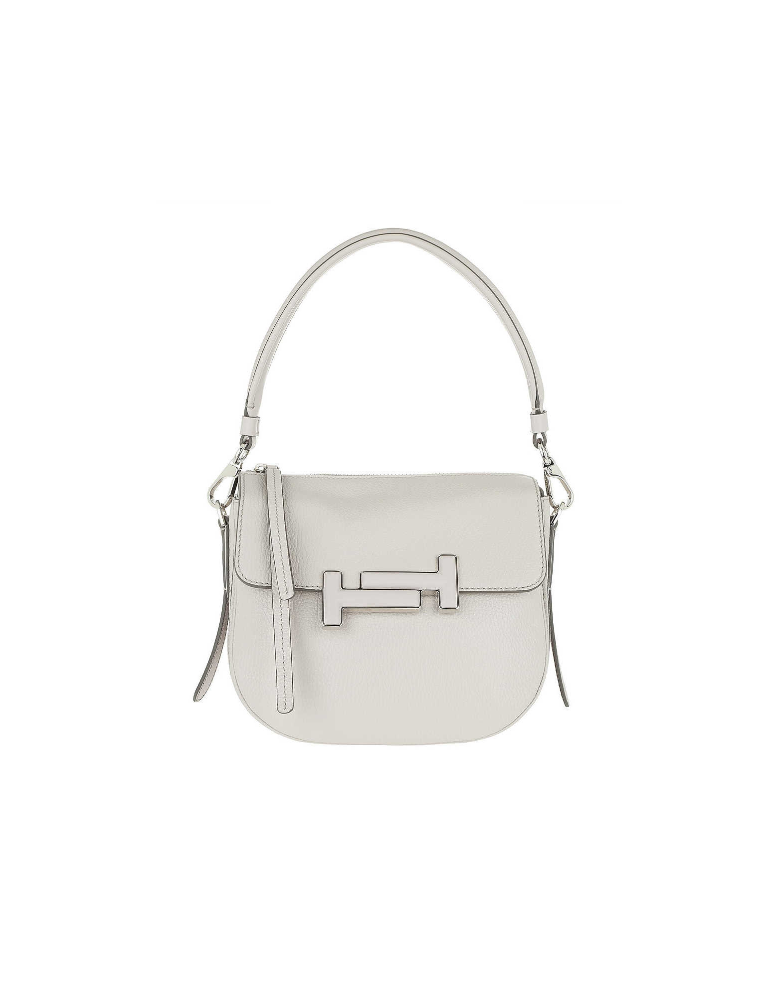 Double T Mini Gray Crossbody Bag