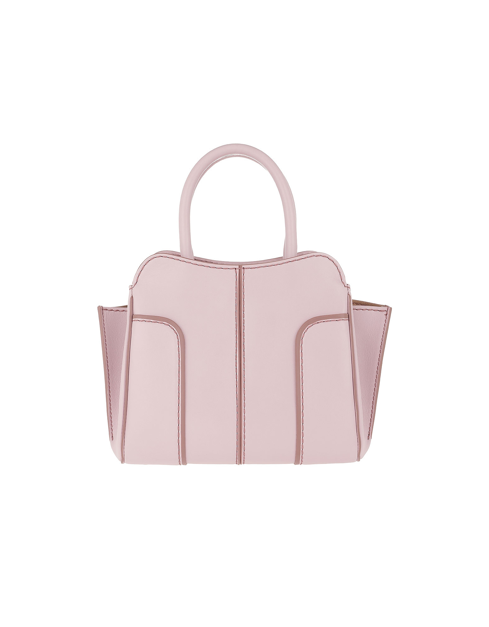 Tod's Handbags, Sella Small Tote Leather Lilac