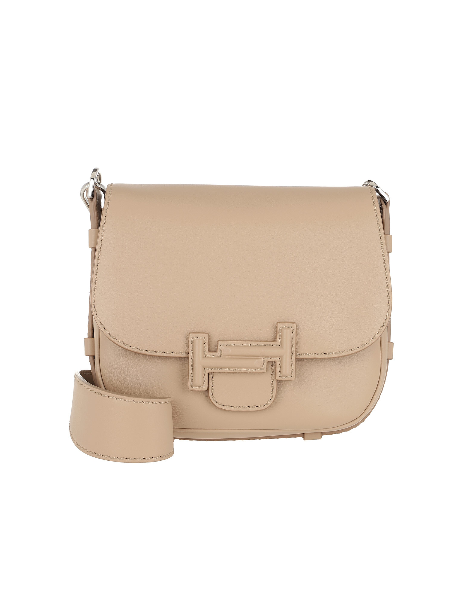 Double T Mini Crossbody Bag Nocciola