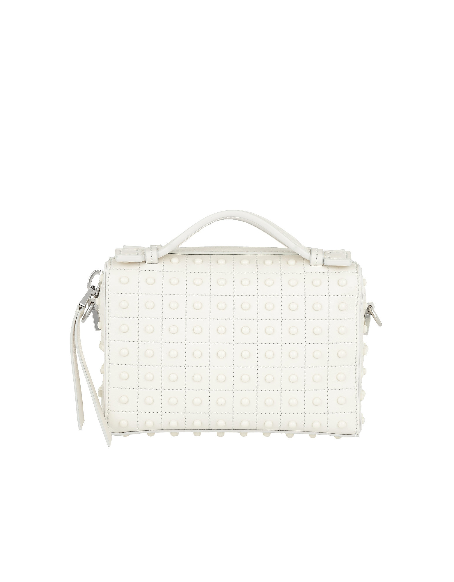 Diodon Gommini Micro Bag Leather White