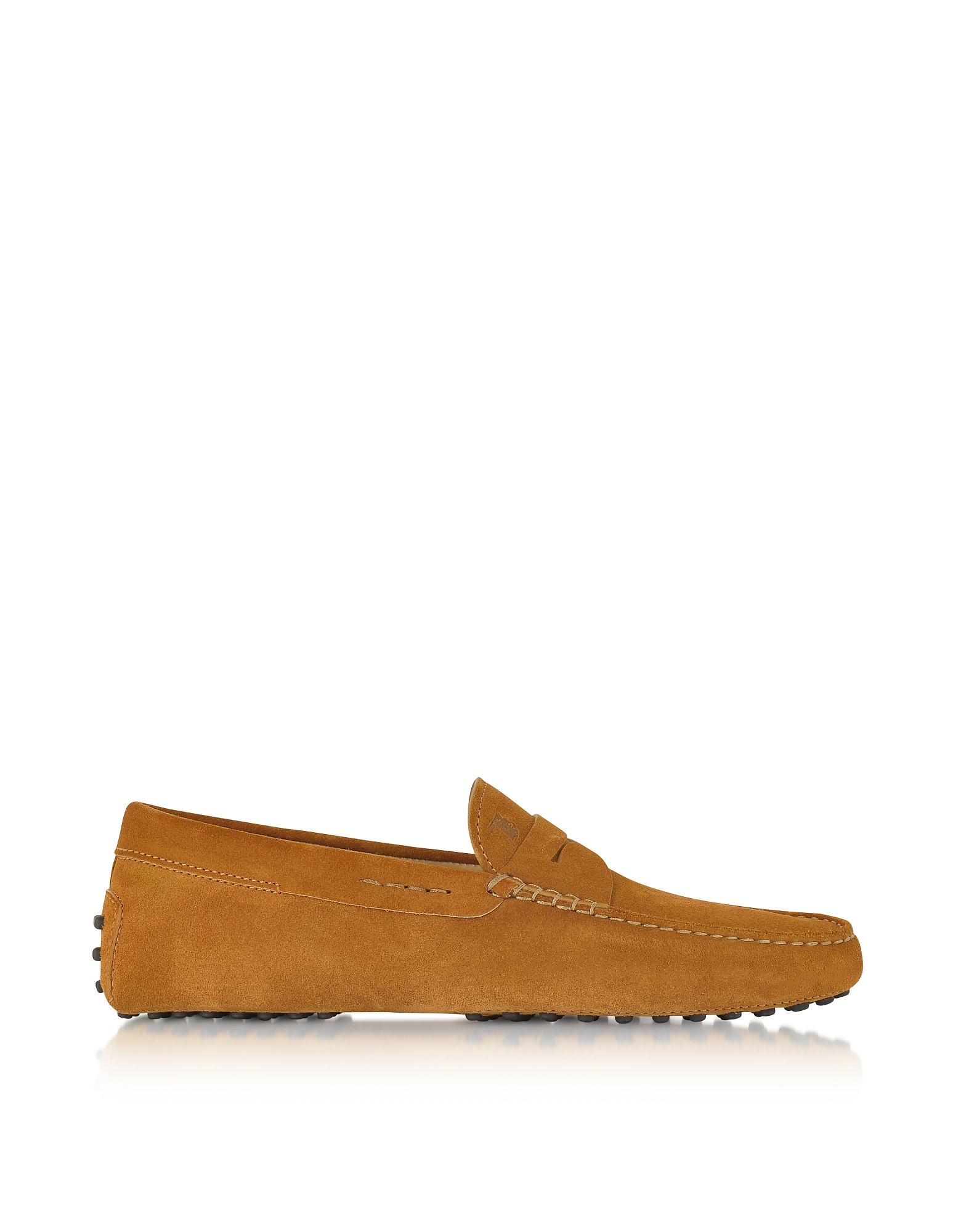 Gommino - Замшевые Туфли для Вождения Автомобиля Оттенка Бренди
