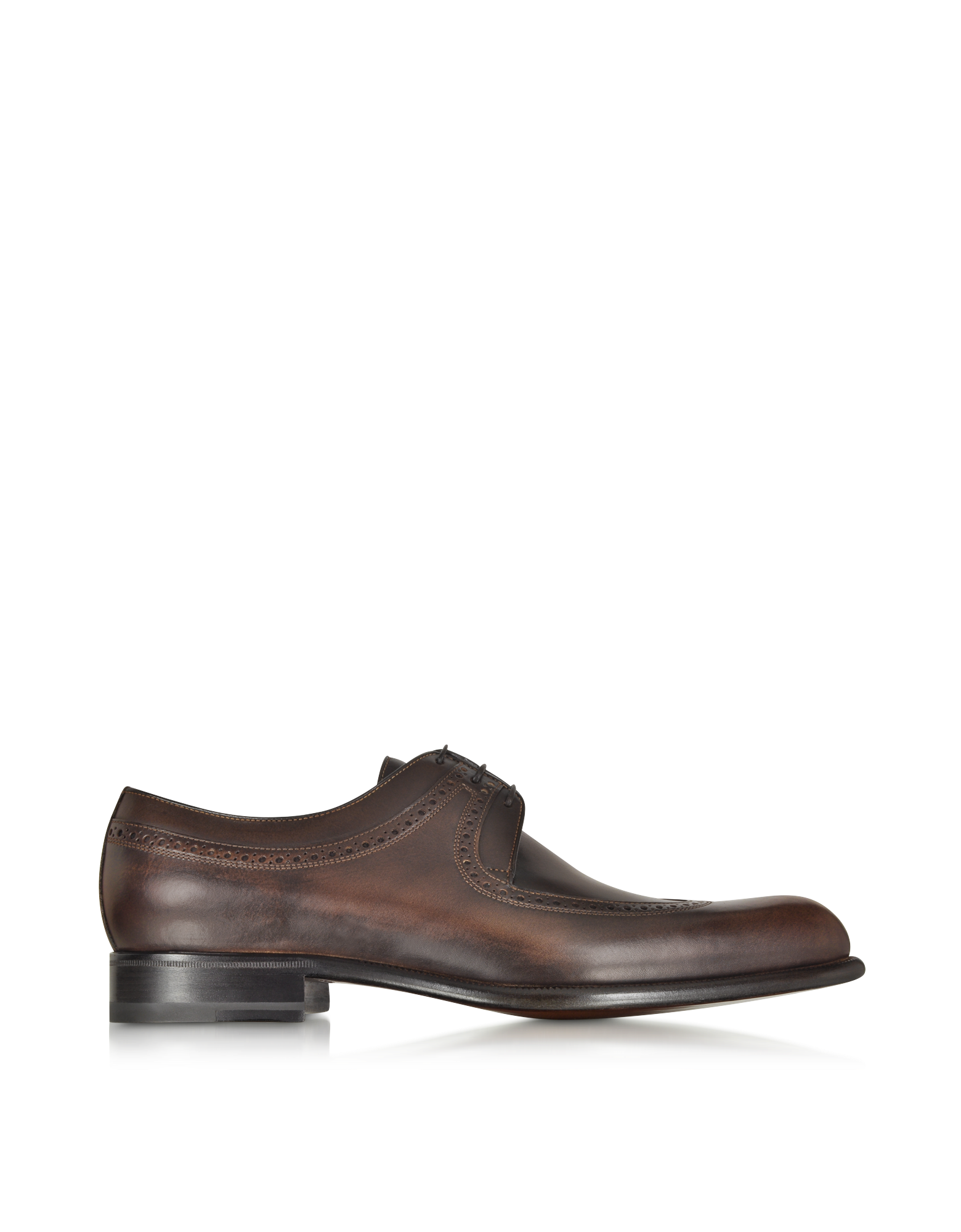 Image of Moro Washed Leather Derby Shoe