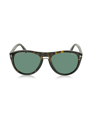 Tom Ford - KURT FT0347 Aviator Sunglasses
