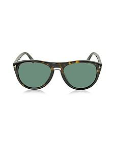 KURT FT0347 Aviator Sunglasses - Tom Ford