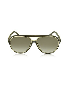 SERGIO FT0379 Aviator Sunglasses - Tom Ford