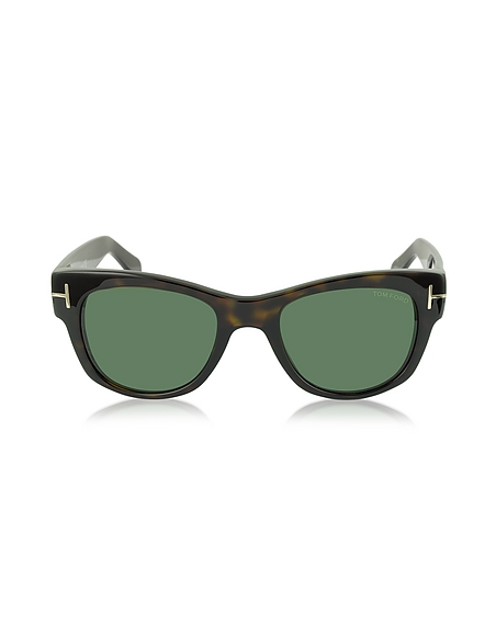 Foto Tom Ford CARY FT0058 52N Occhiali da Sole in Acetato Havana