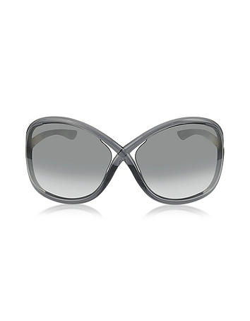WHITNEY FT009 B5 Oversized Soft Round Sunglasses from Tom ...