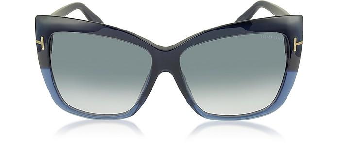 IRINA FT0390 Oversized Squared Sunglasses - Tom Ford