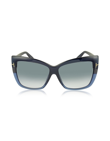 Tom Ford - IRINA FT0390 Oversized Squared Sunglasses