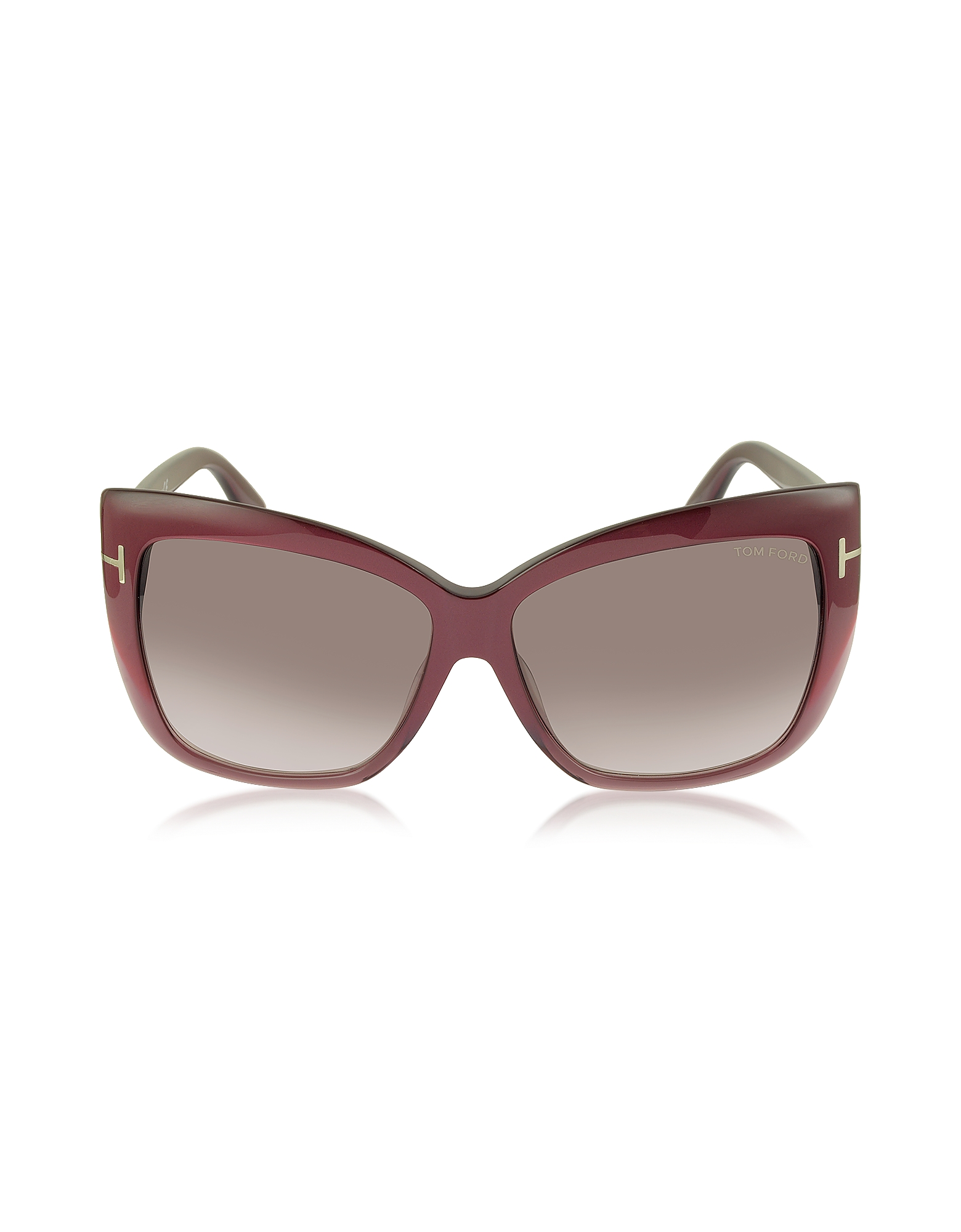 Tom Ford Designer Sunglasses, IRINA FT0390 Oversized Squared Sunglasses
