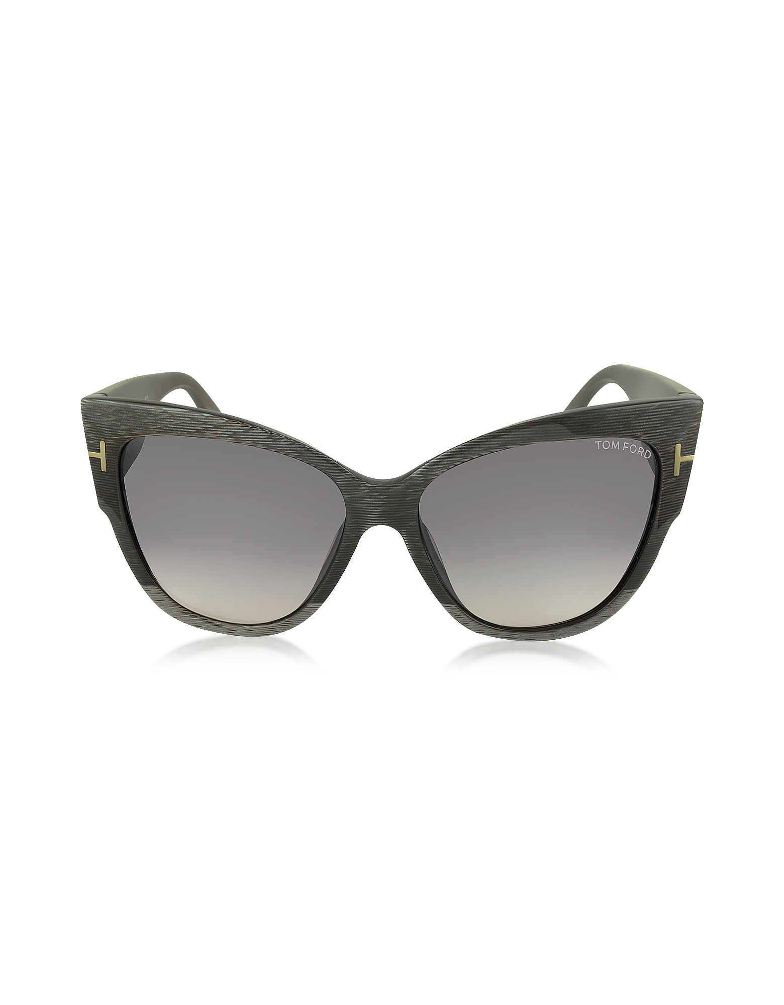 Tom Ford Sunglasses, ANOUSHKA FT0371 38B Dove Grey Cat Eye Sunglasses