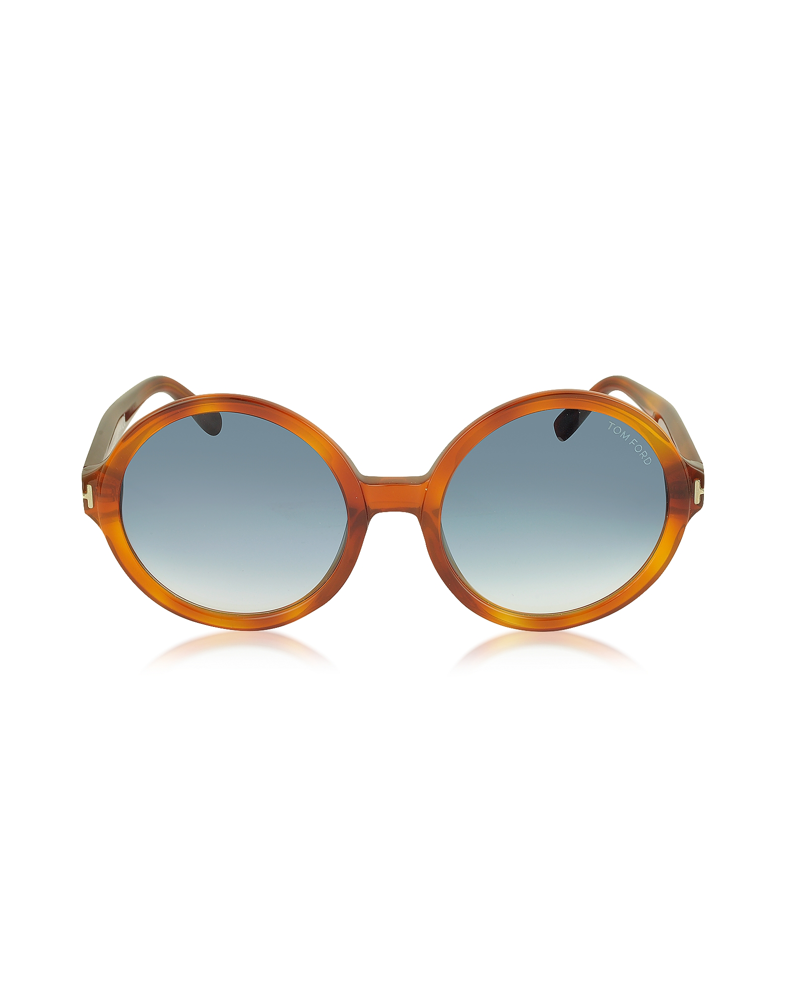 Tom Ford Sunglasses, JULIET FT0369 Acetate Round Sunglasses