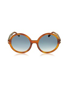 JULIET FT0369 Acetate Round Sunglasses - Tom Ford
