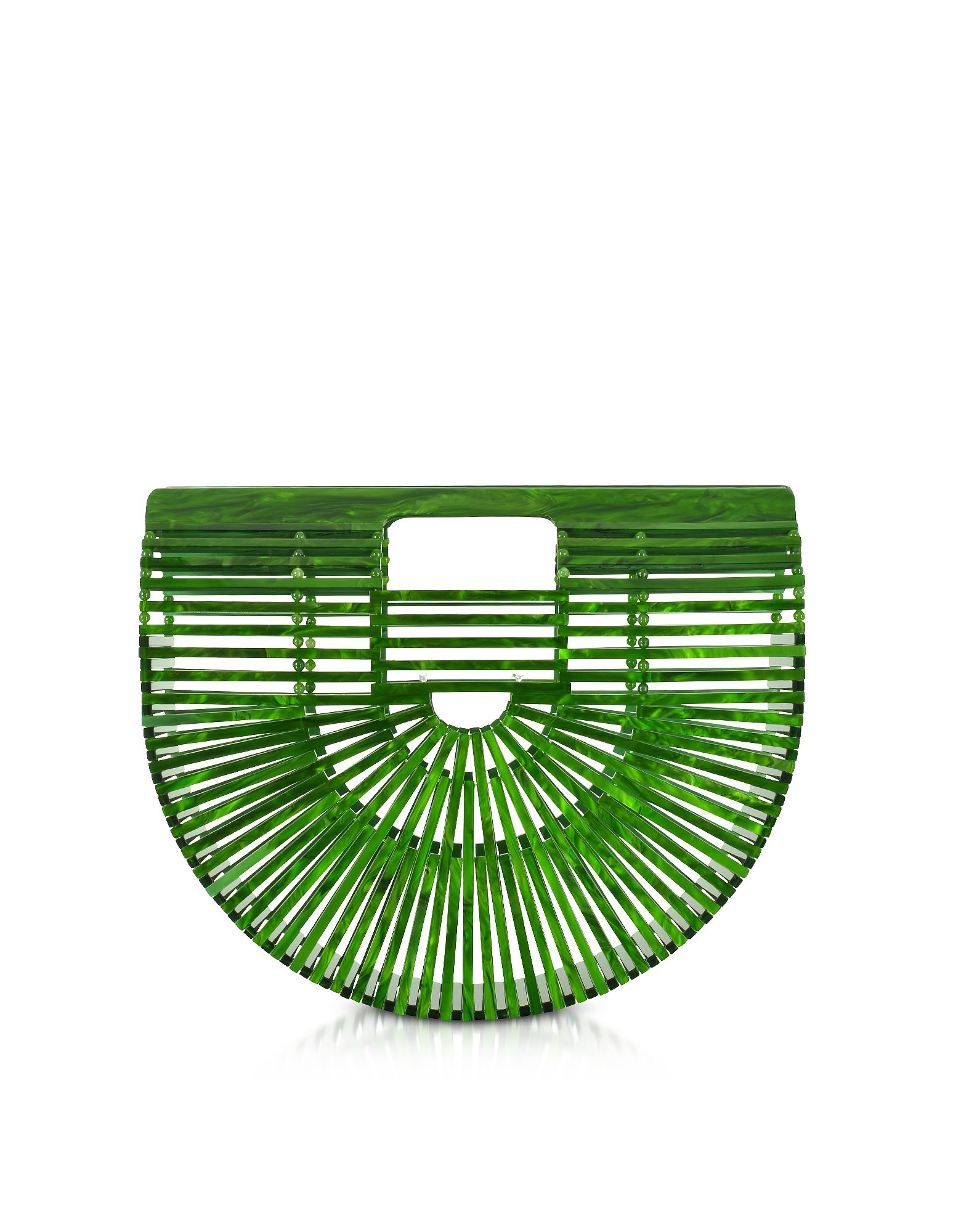 Cult Gaia Handbags, Malachite Acrylic Small Ark Bag