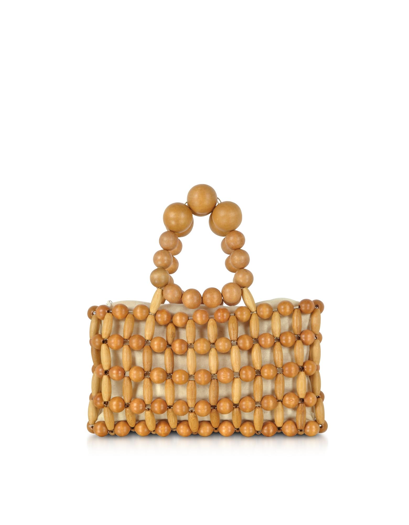 Cult Gaia Handbags, Bamboo Cora Clutch Bag