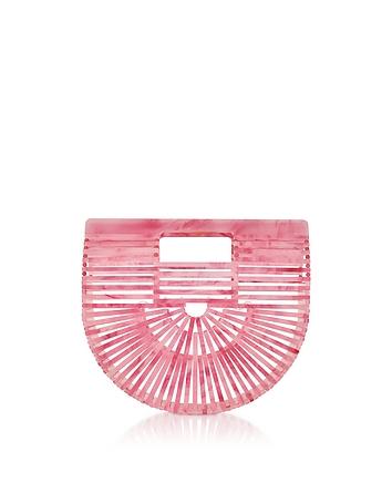 Cherry Quartz Acrylic Mini Ark Bag tg130318-017-00