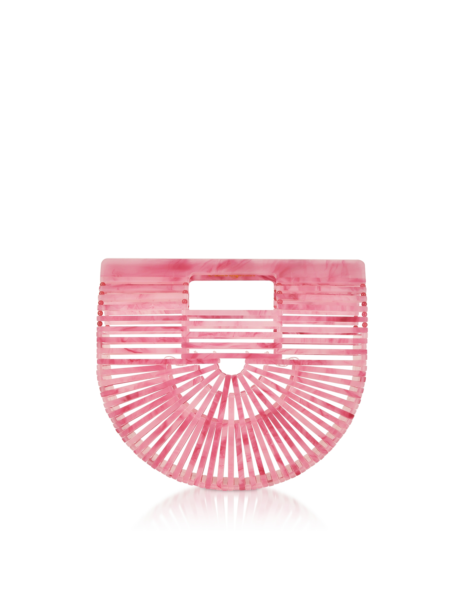 Mini Ark Bag in Acrilico Cherry Quartz