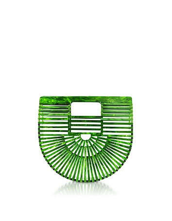 Malachite Acrylic Mini Ark Bag tg130318-018-00