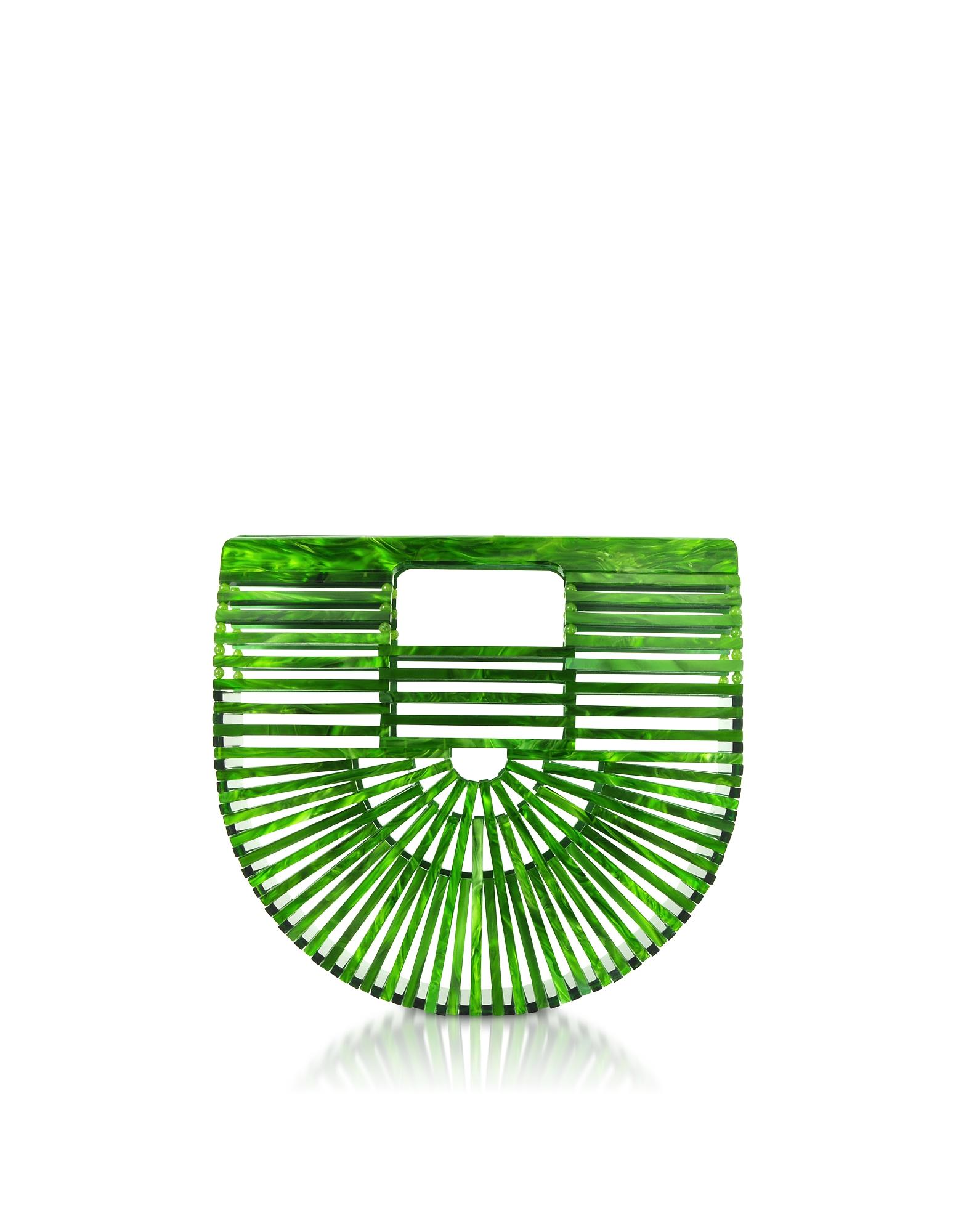 Mini Ark Bag in Acrilico Malachite