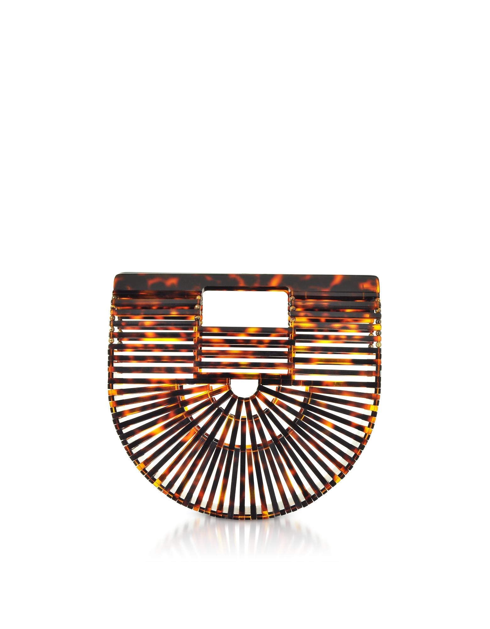 Tortoise Acrylic Mini Ark Bag