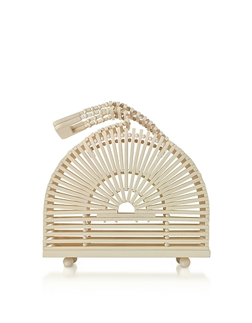 Ash Bamboo Mini Cupola Bag tg130318-024-00
