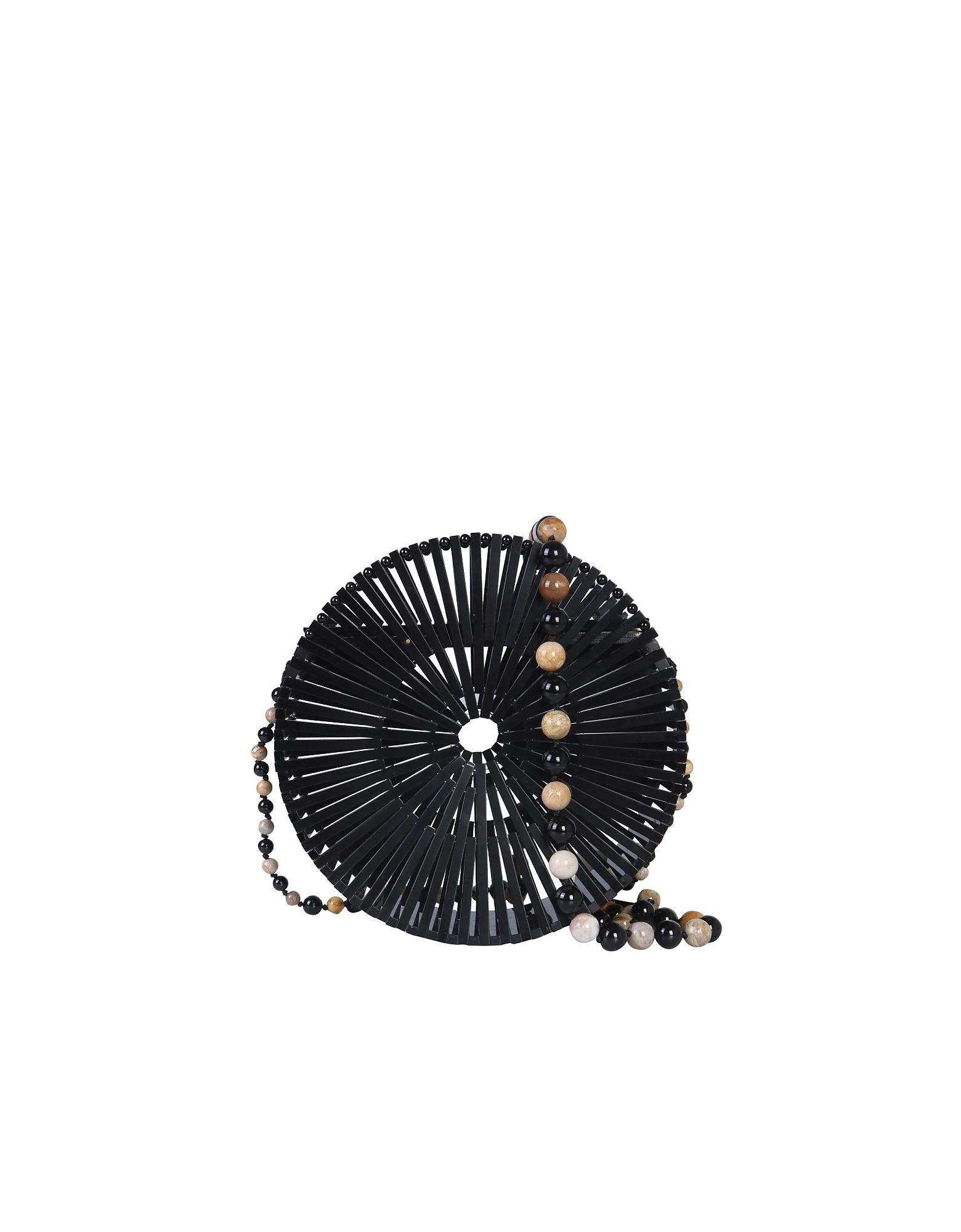Cult Gaia Designer Handbags, Luna Shoulder Bag