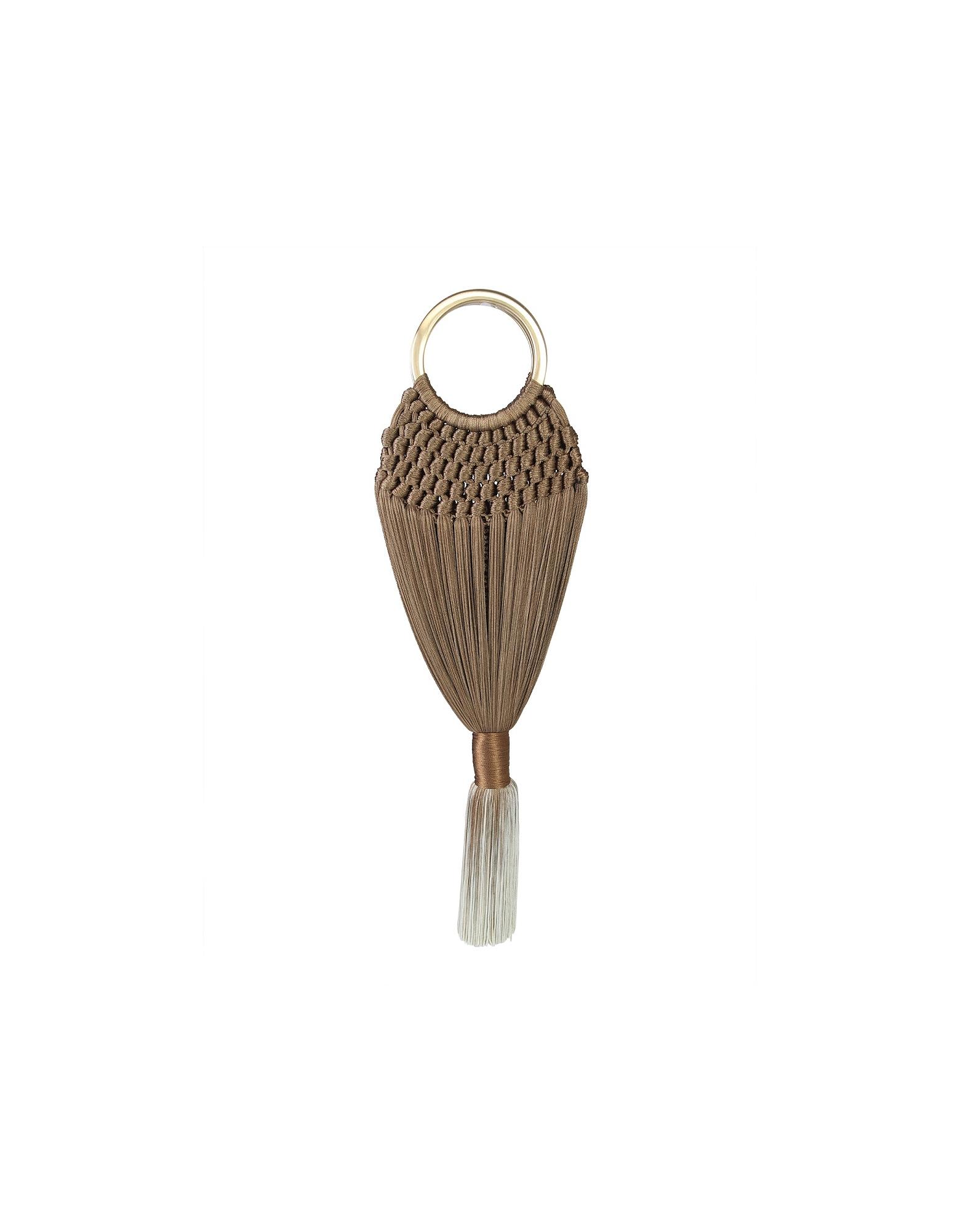 Cult Gaia Designer Handbags, Mini Angelou Bag