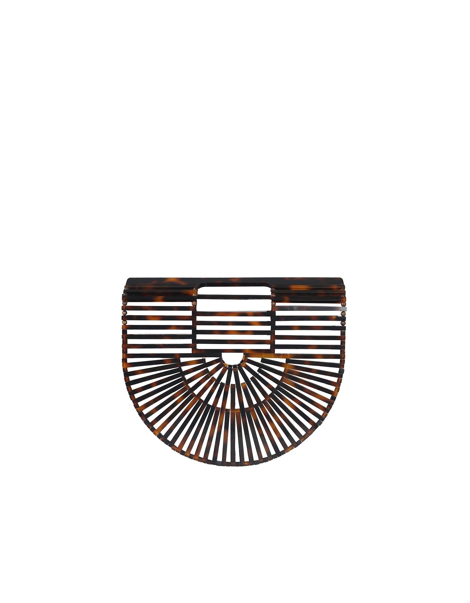 Cult Gaia Designer Handbags, Mini Gaia's Ark Bag