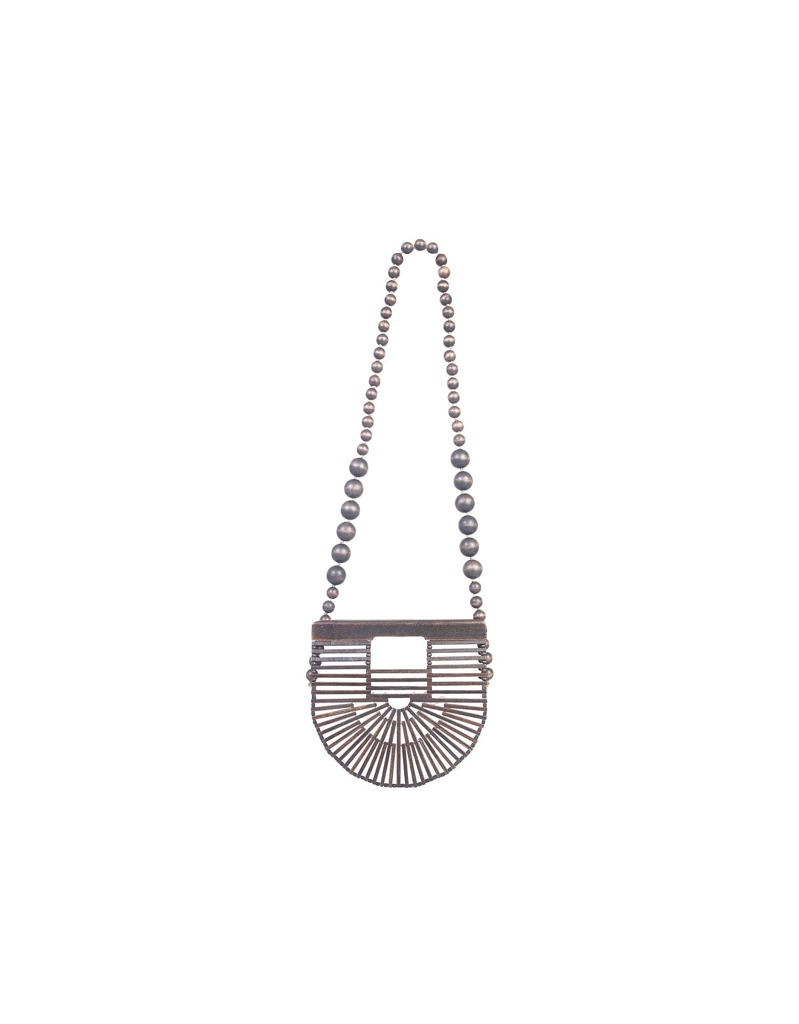 Cult Gaia Designer Handbags, Gaia's Ark Micro Bag