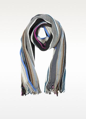 Bright Stripe Lamora Men's Scarf - Paul Smith