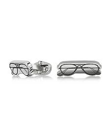 Men's Sunglasses Drawing Cufflinks  - Paul Smith