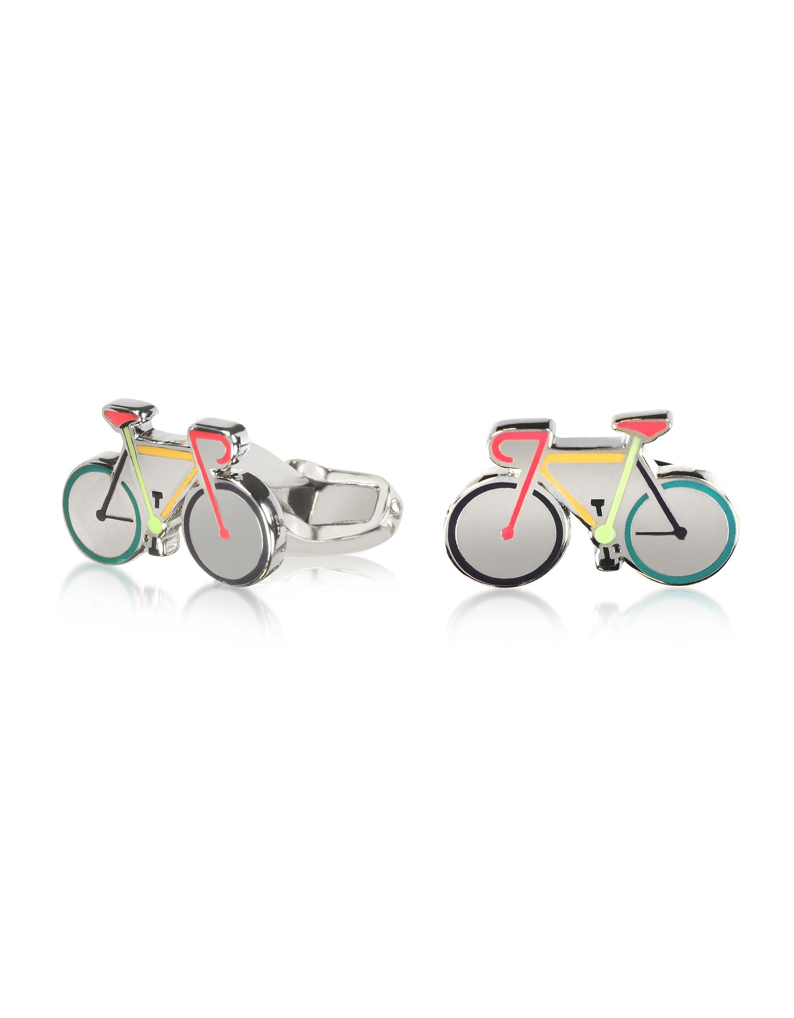 Запонки Велосипеды из Эмали и Металла