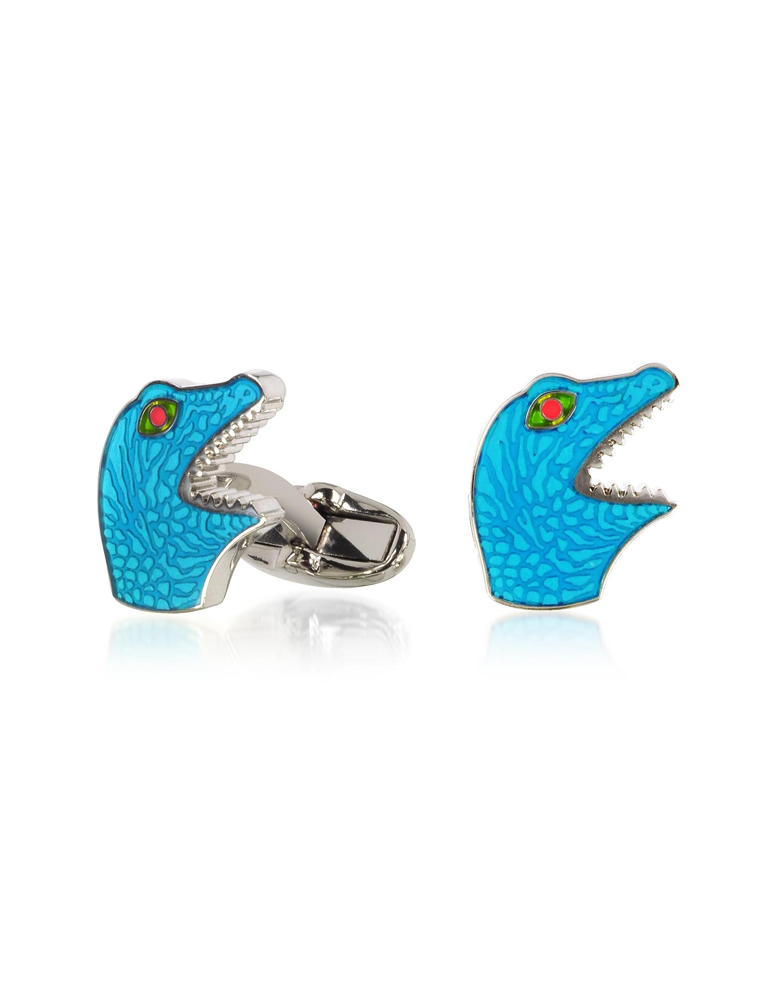Blue Dino Cufflinks