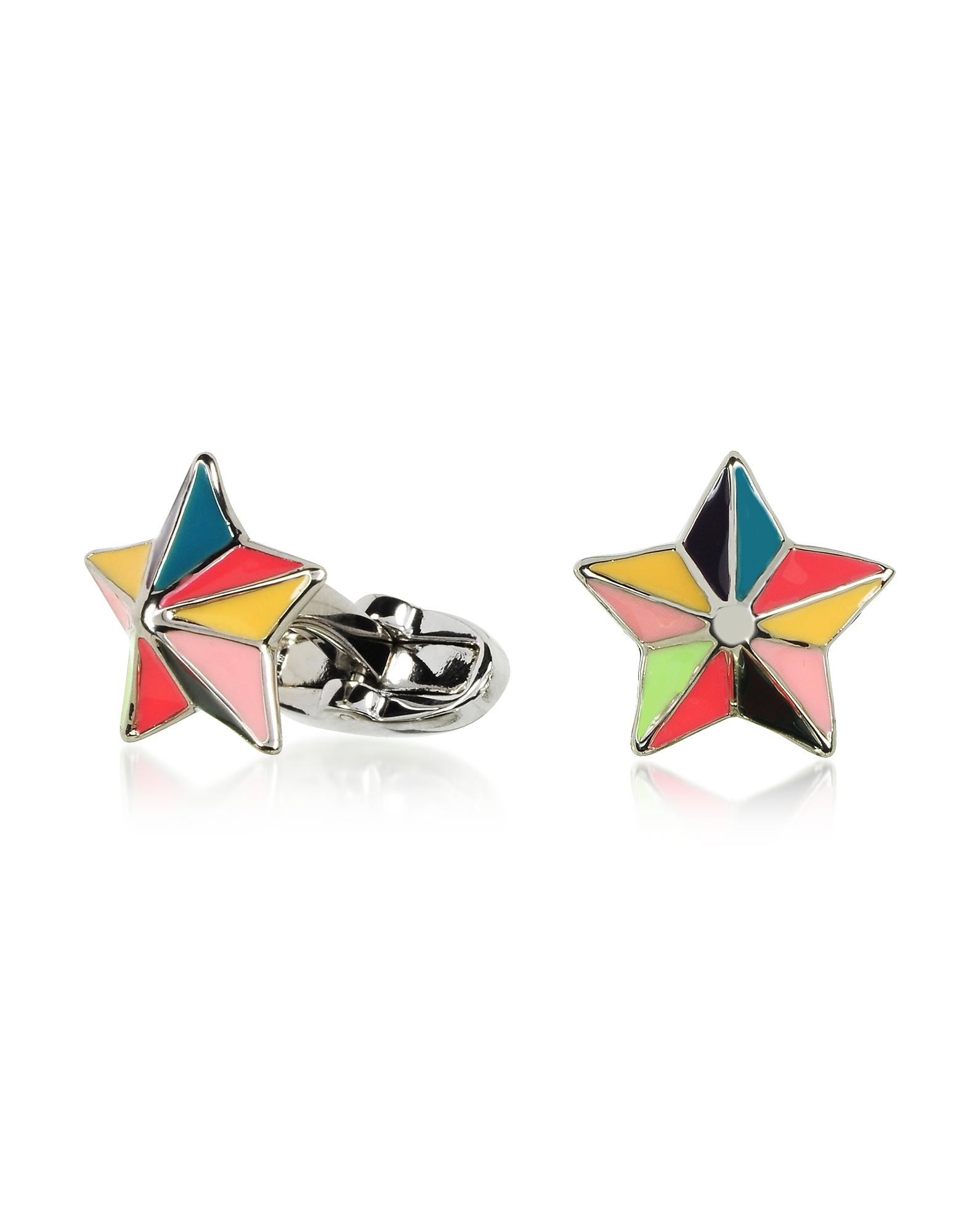 MultiColor Star Cufflinks