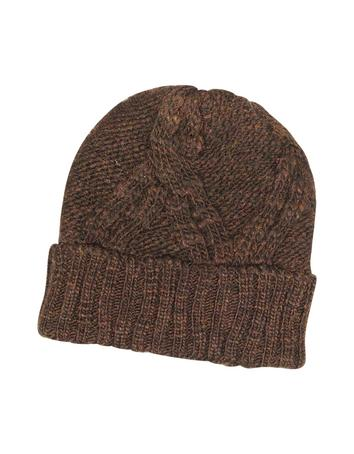 Men's Cable Knit Wool & Alpaca Beanie Hat