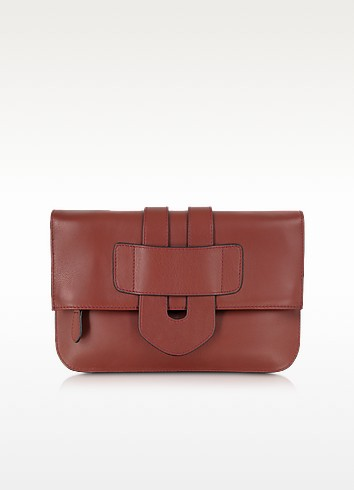 Zelig Leather Clutch - Tila March