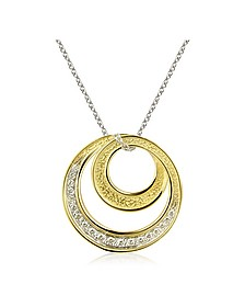 Infinity 18K Yellow Gold Diamond Pendant Necklace - Torrini