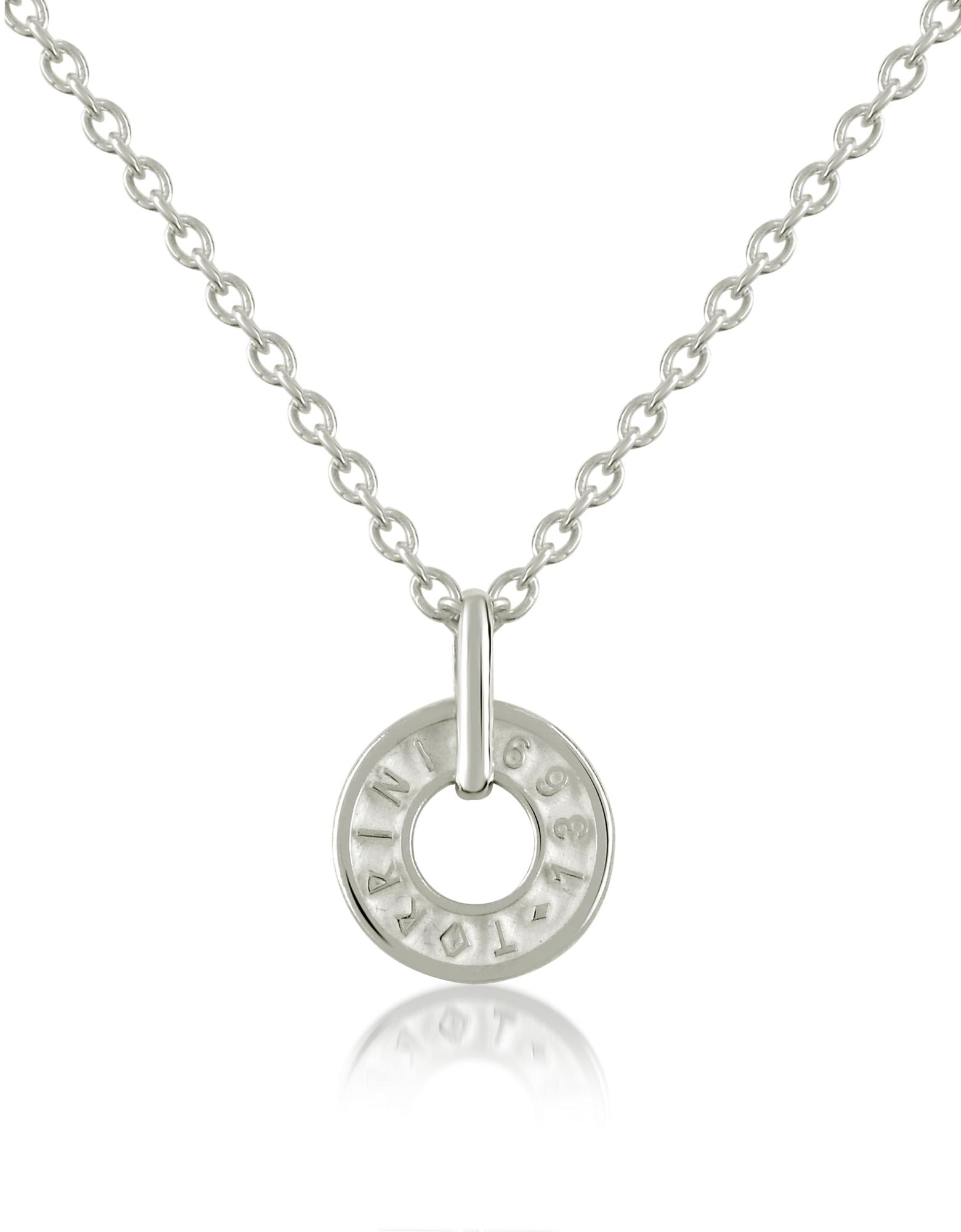 Torrini Coin 1369 Sterling Silver Charm Necklace