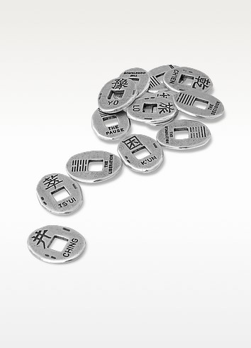 I Ching Sterling Silver Coins - Set of 13 - Torrini