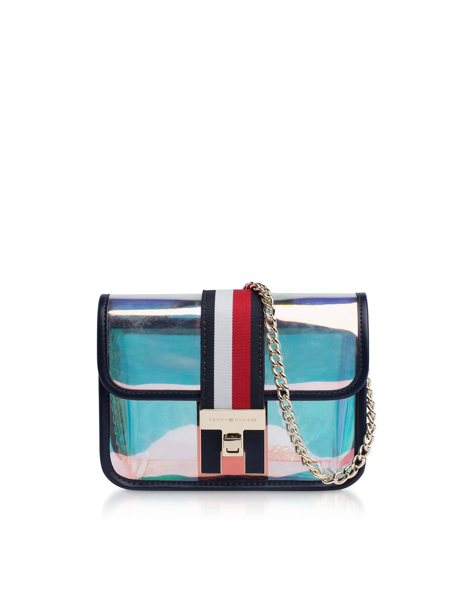 Iridescent The Heritage Mini Crossover Bag