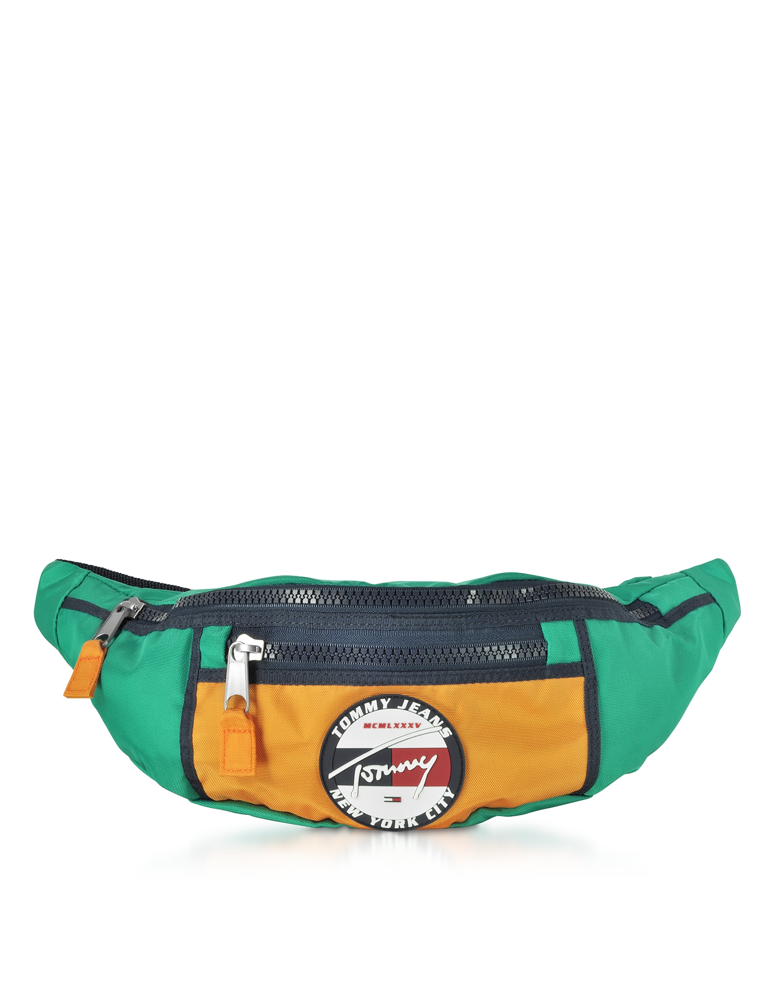 The Heritage Aqua Fabric Belt Bag
