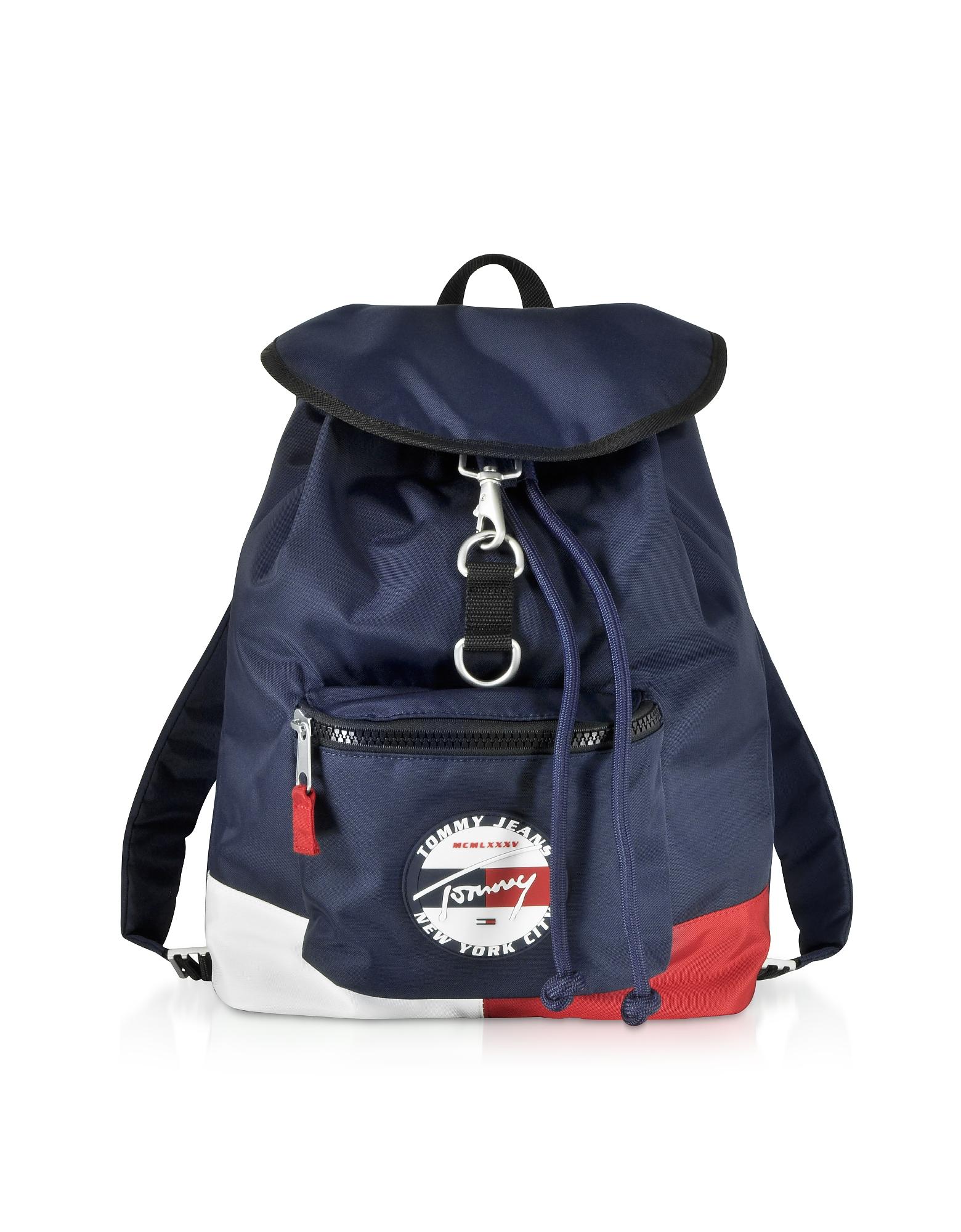 The Heritage Blue Nylon Backpack
