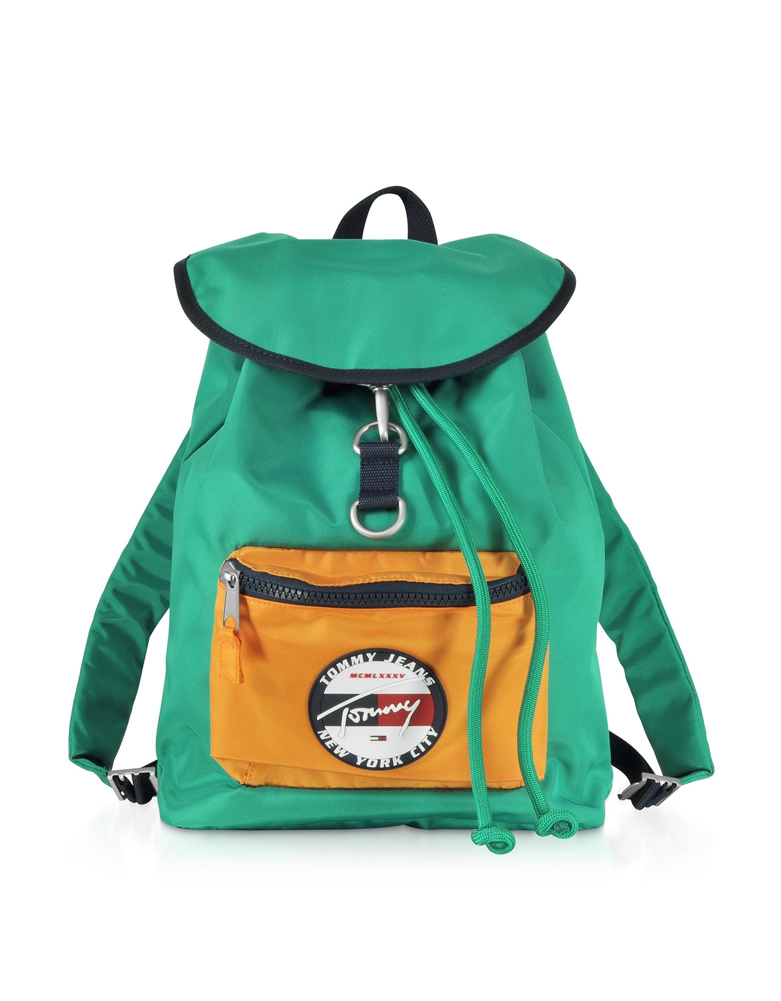 The Heritage Aqua Fabric Backpack