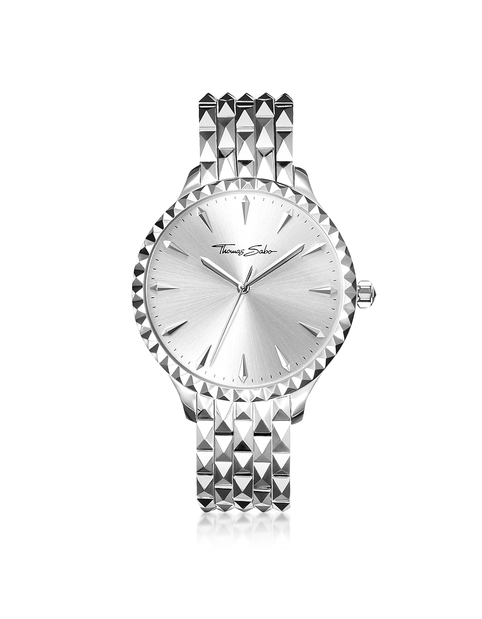 Rebel at Heart Silver Stainless Steel Women's Watch