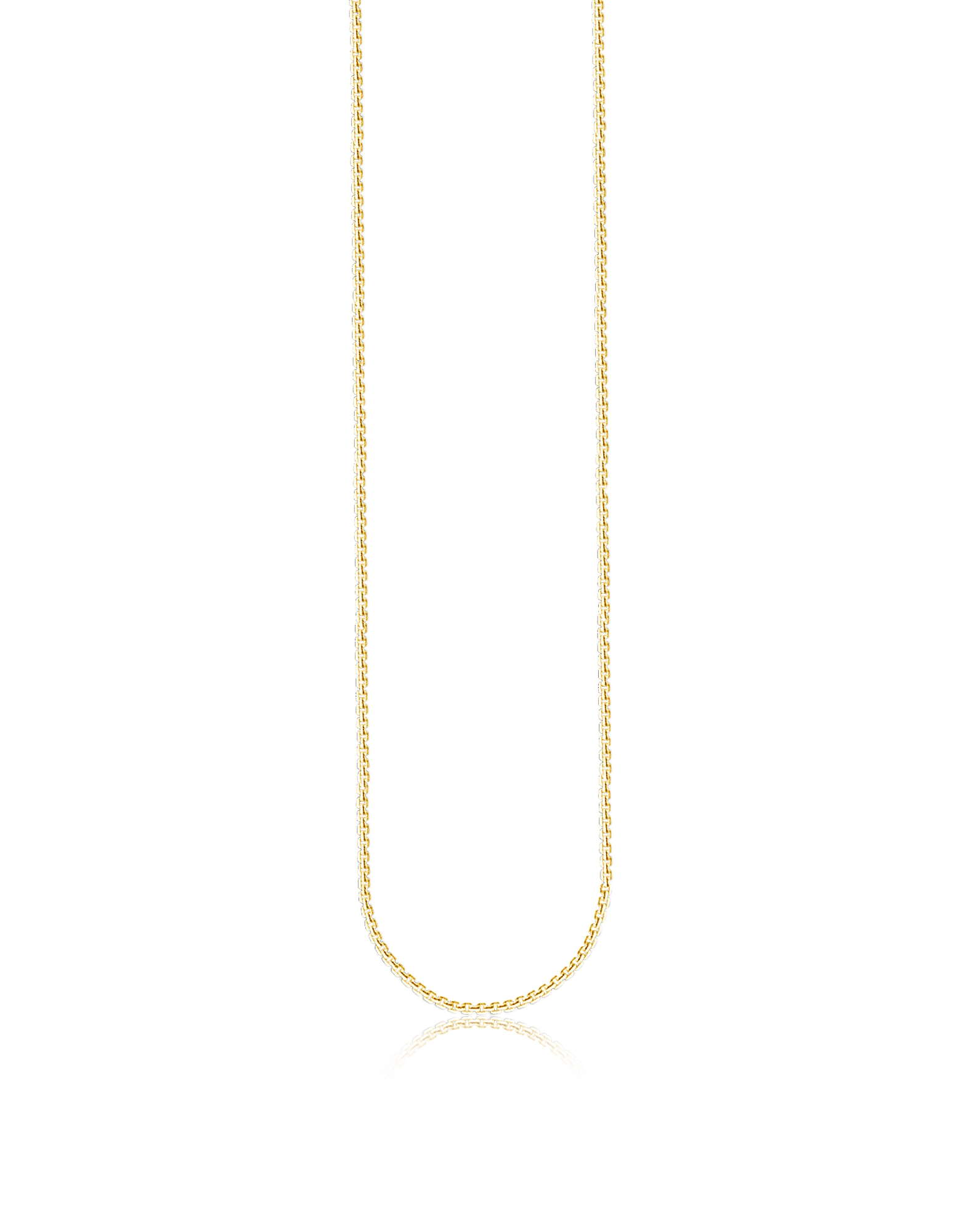 Gold Plated Sterling Silver Venezia Chain Necklace
