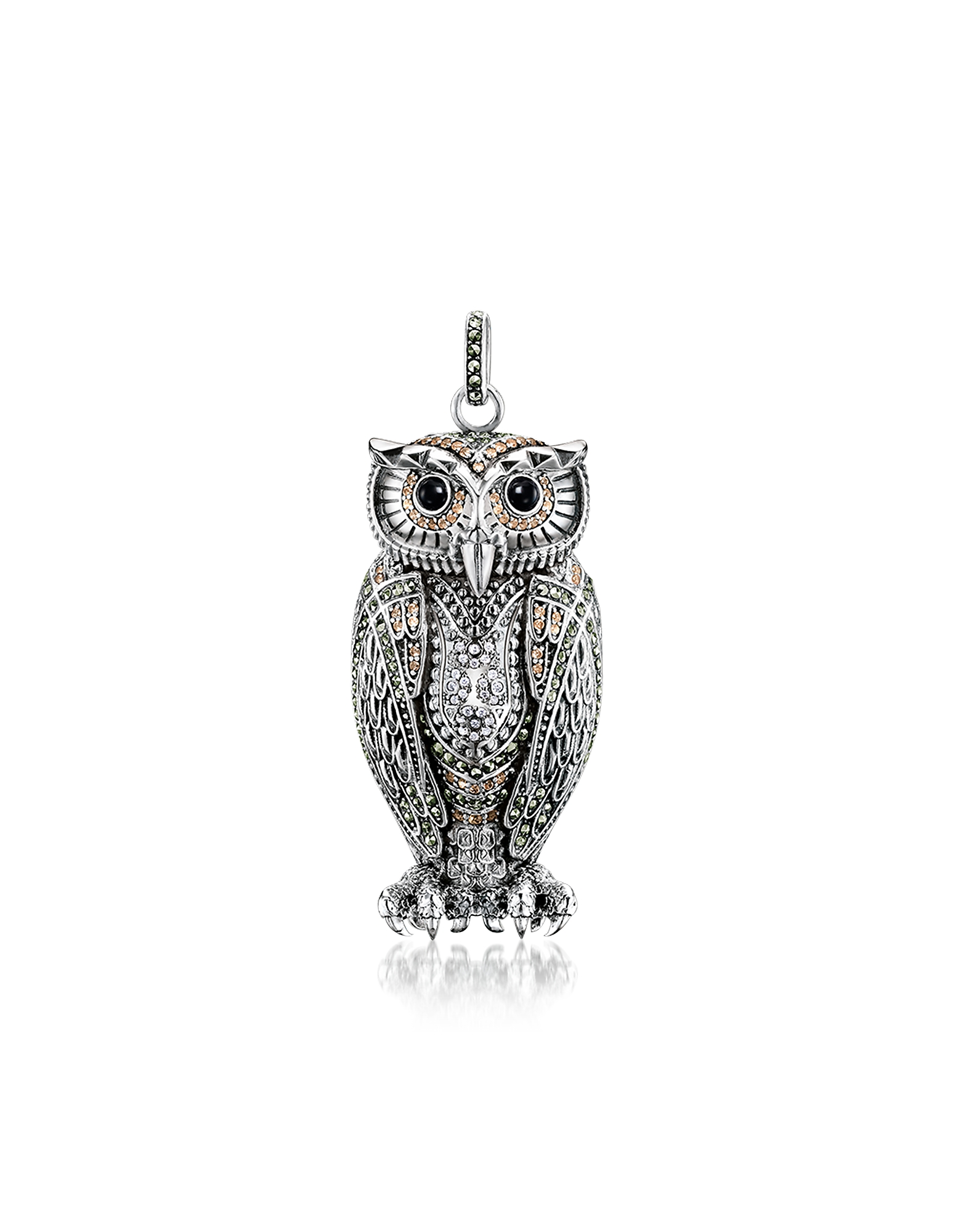 Thomas Sabo Necklaces, Rebel Icon Sterling Silver Owl